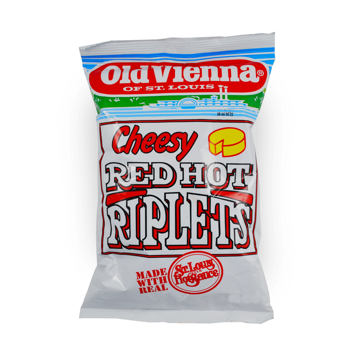 Old Vienna Cheesy Red Hot Riplets