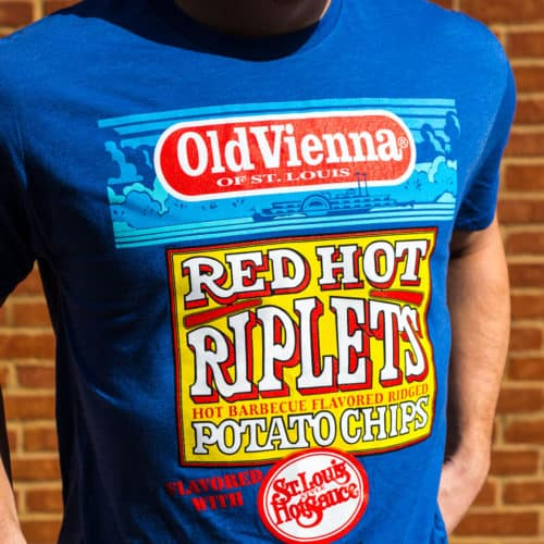 red hot riplets tee blue