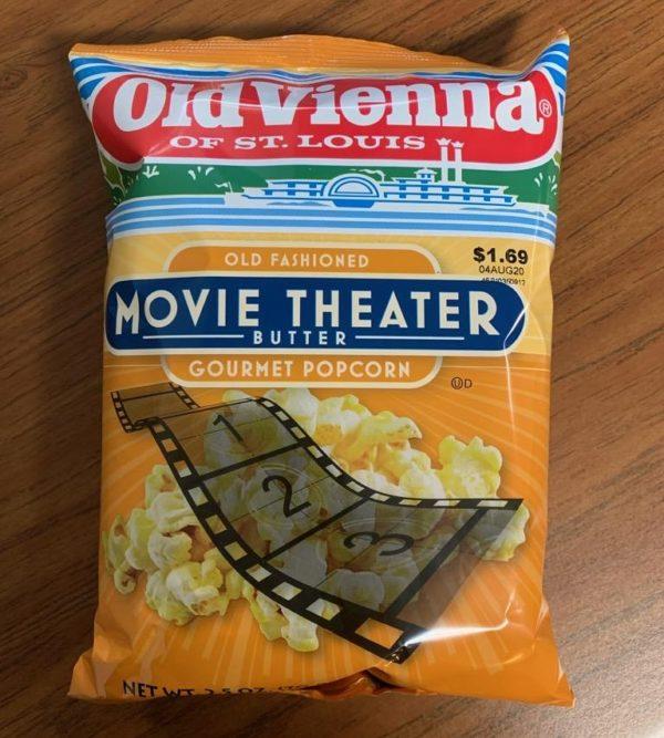 Old Vienna Movie Theater Popcorn